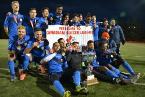 York Region Shooters reserves Second Division champions follwing 2-1 victory